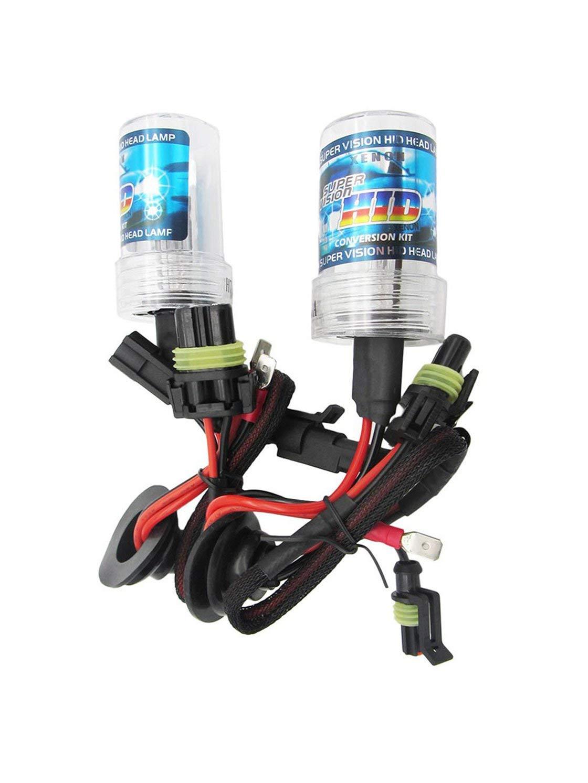 4300K // 5000K H10 Ampoule DE Remplacement DHI Ampoule Simple pour Moto 3000K Paire 55W 9005 12000K 10000K 6000K Gwendoll 2pcs 8000K HB3