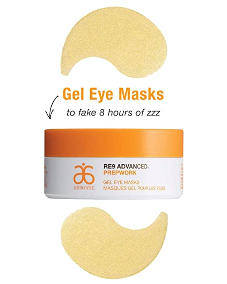 Arbonne RE9 Advanced Prepwork Gel Eye 60 Masks Puffiness