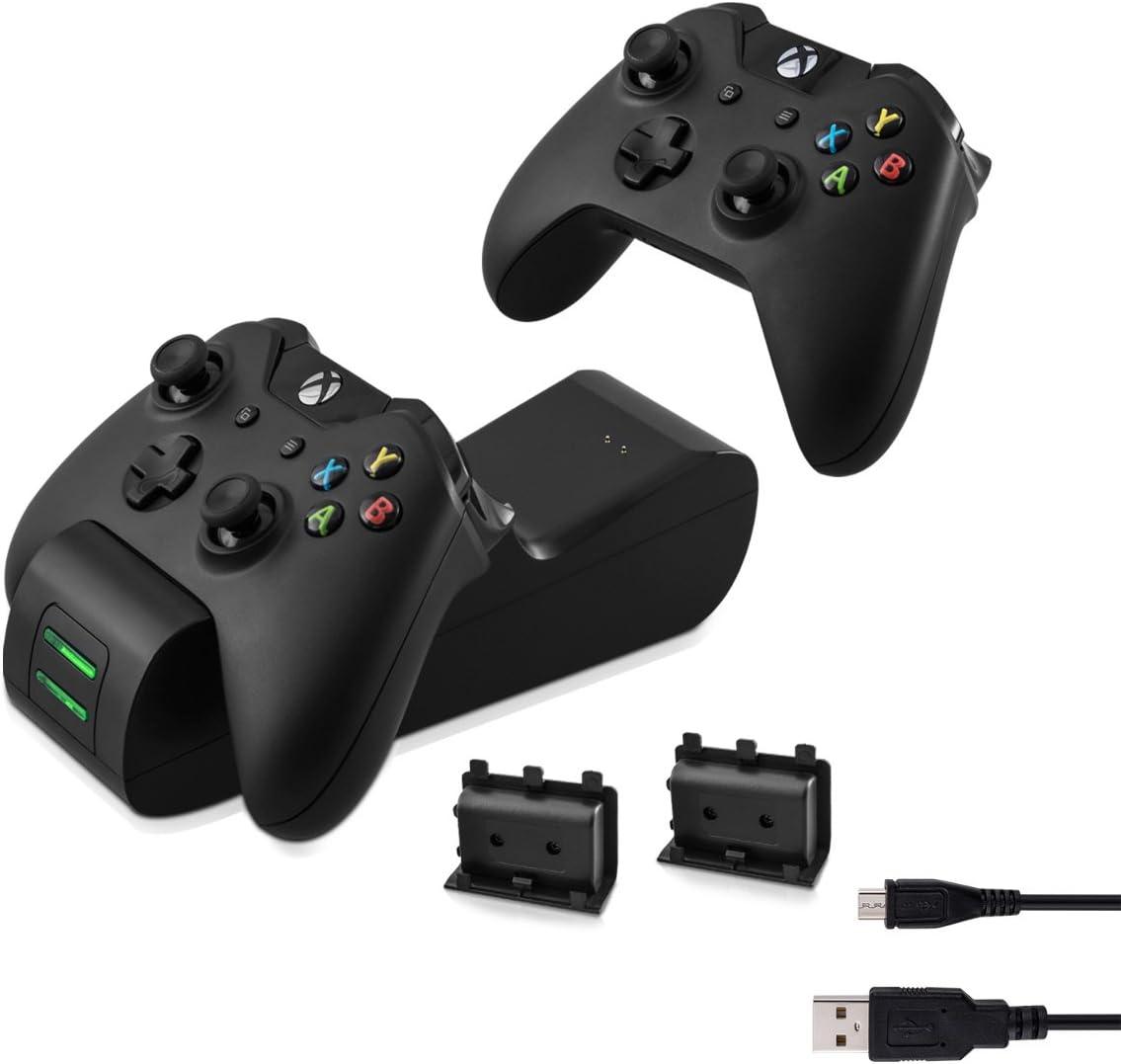 kwmobile Estación de Carga rápida Compatible con Xbox One y One S: Amazon.es: Electrónica