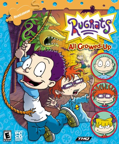 Cd Rom Kids Game Pc - Rugrats All Growed Up - PC