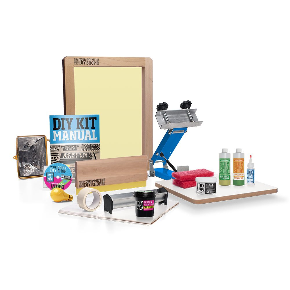 DIY PRINT SHOP Awesome Gig Poster Screen Printing Kit by DIY Print Shop