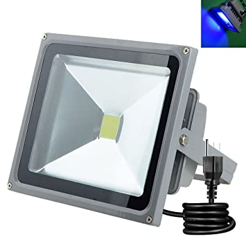Amazon.com: Anye 10 W Color azul LED foco al aire última ...