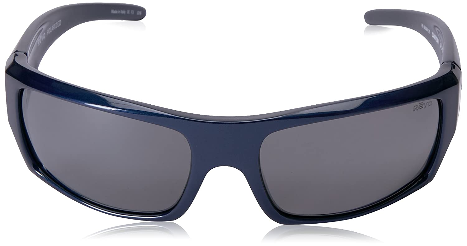 194dffe009 Amazon.com  Revo Sunglasses Revo Re 5008x Canyon Polarized Wraparound  Sunglasses Wrap
