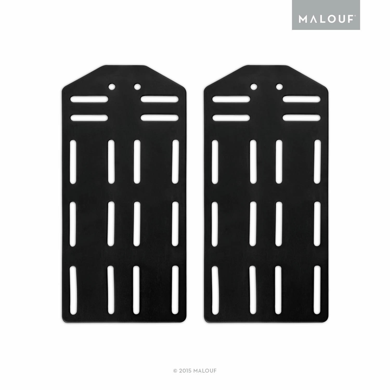 MALOUF STRUCTURES King Bed Frame Headboard Bracket Modification Plate Modi, Set of 2 ST00KKMO