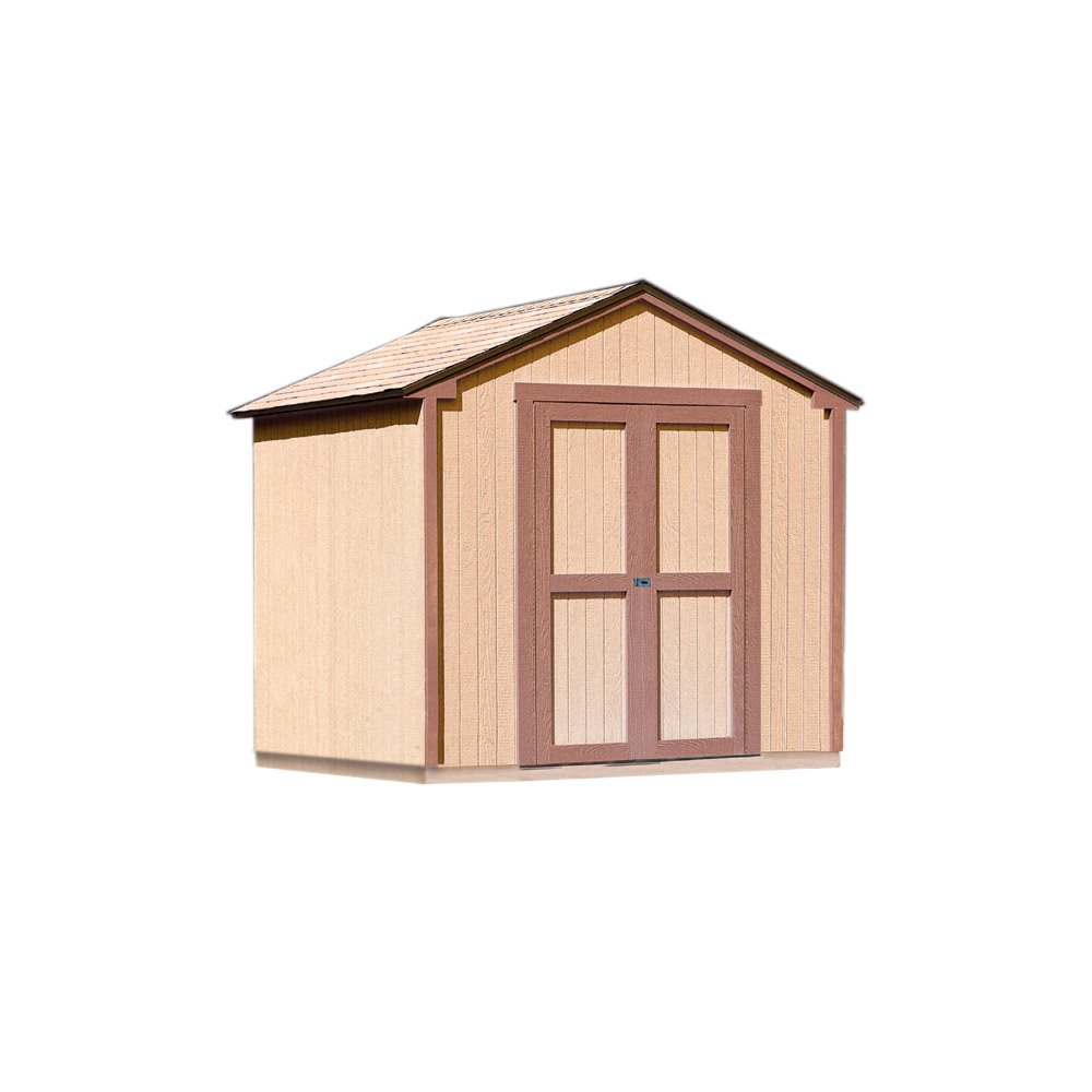 amazon com handy home products kingston shed kit 8 by 8 feet