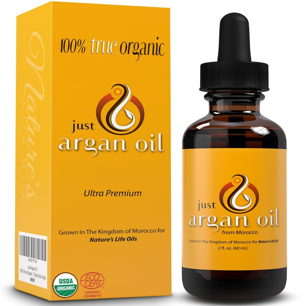 Natures Truth 100 Pure Moroccan Argan Oil Unscented Serum, 2 fl oz