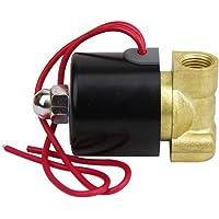 "LEORX CA 220V 1/4"" válvula de solenoide eléctrica"
