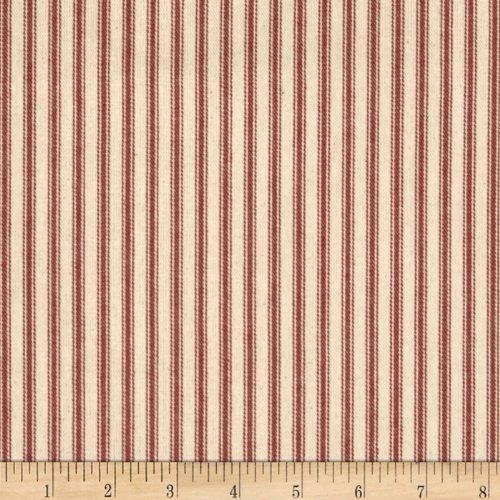 Amazon Com Santee Print Works Vertical Ticking Stripe
