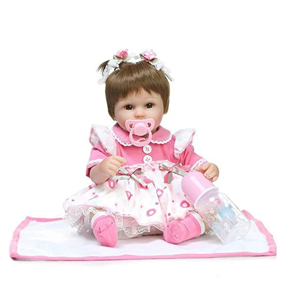 Amazon.com: Muñeca de simulación de muñecas para bebé ...