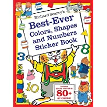 Richard Scarry's Best Ever Colors, Shapes, and Numbers: Includes Giant Poster and 80+ Stickers! (Richard Scarry's Sticker and Poster Books) by Scarry, Richard (2014) Paperback