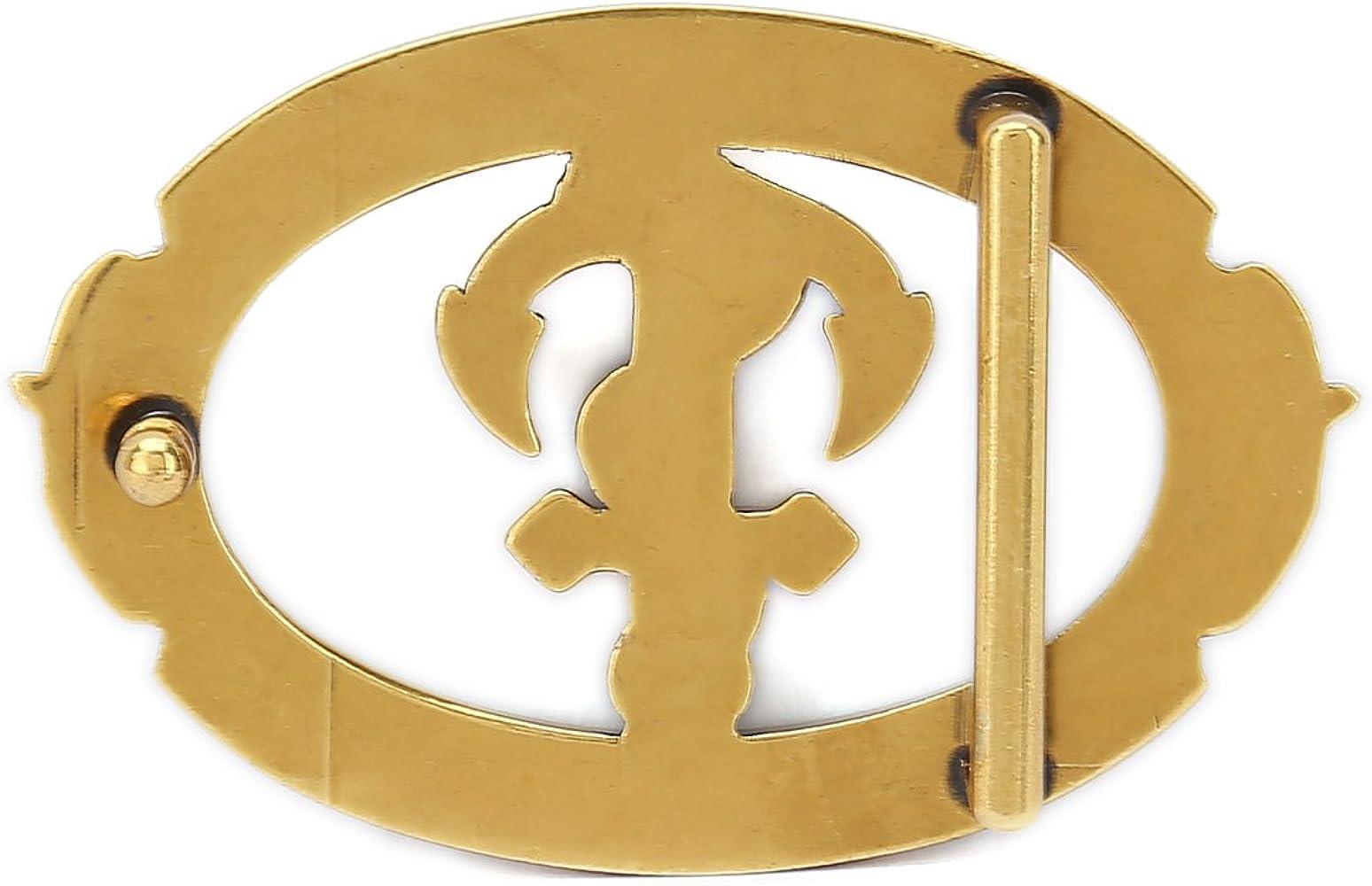 Retro Silver Color Gurscour Western Scorpion Belt Buckle