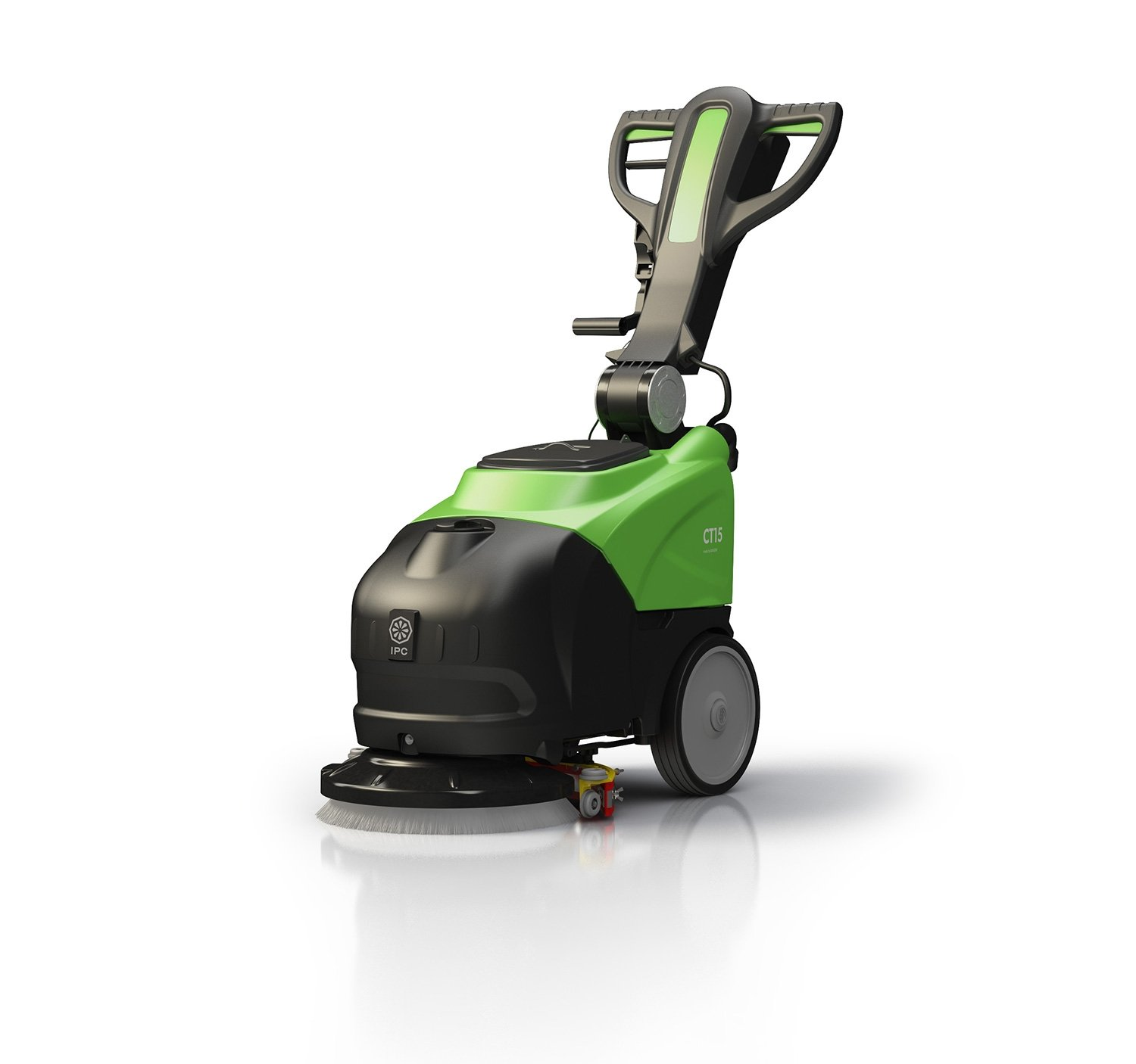 14'' Battery Powered Automatic Floor Scrubber