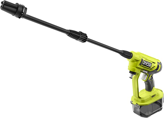 Ryobi RY18PW22A-0 ONE Cordless Power Washer - Best for Light Clean