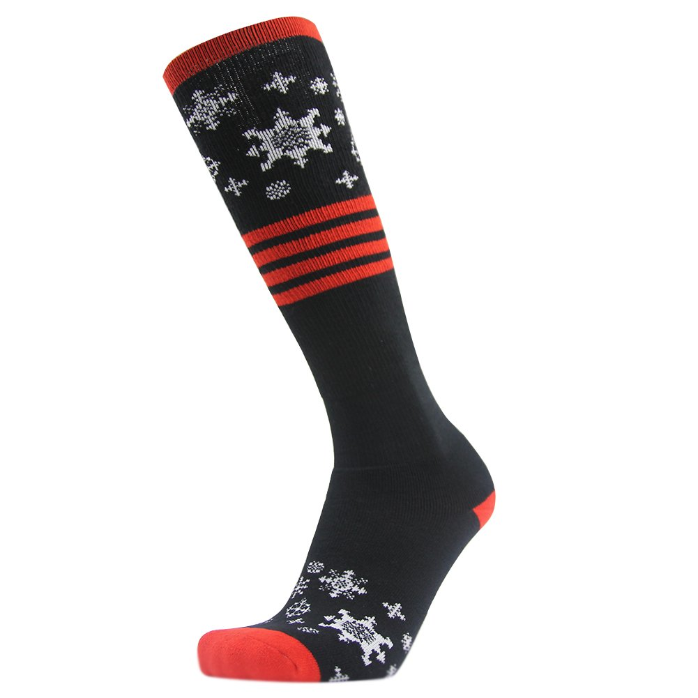 Ski Socks, Gmark Womens' Crazy Winter Thickened Sports Snowboard Stockings Cotton Socks Red