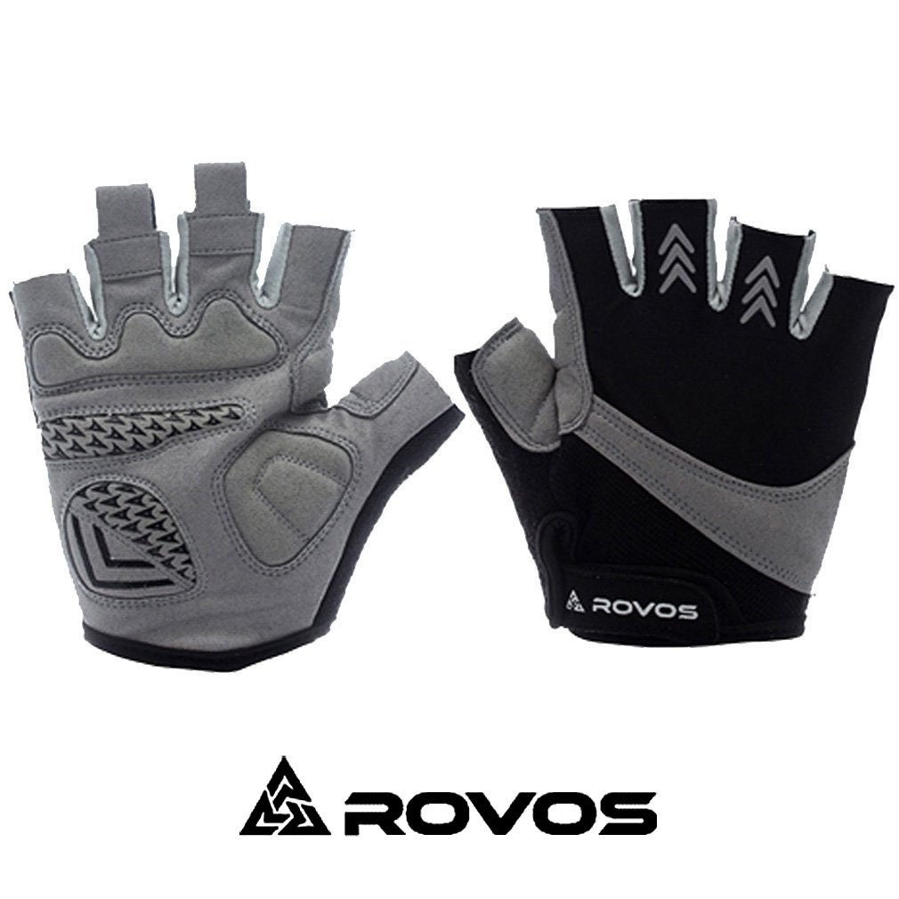 Rovos Fingerless Bike Gloves