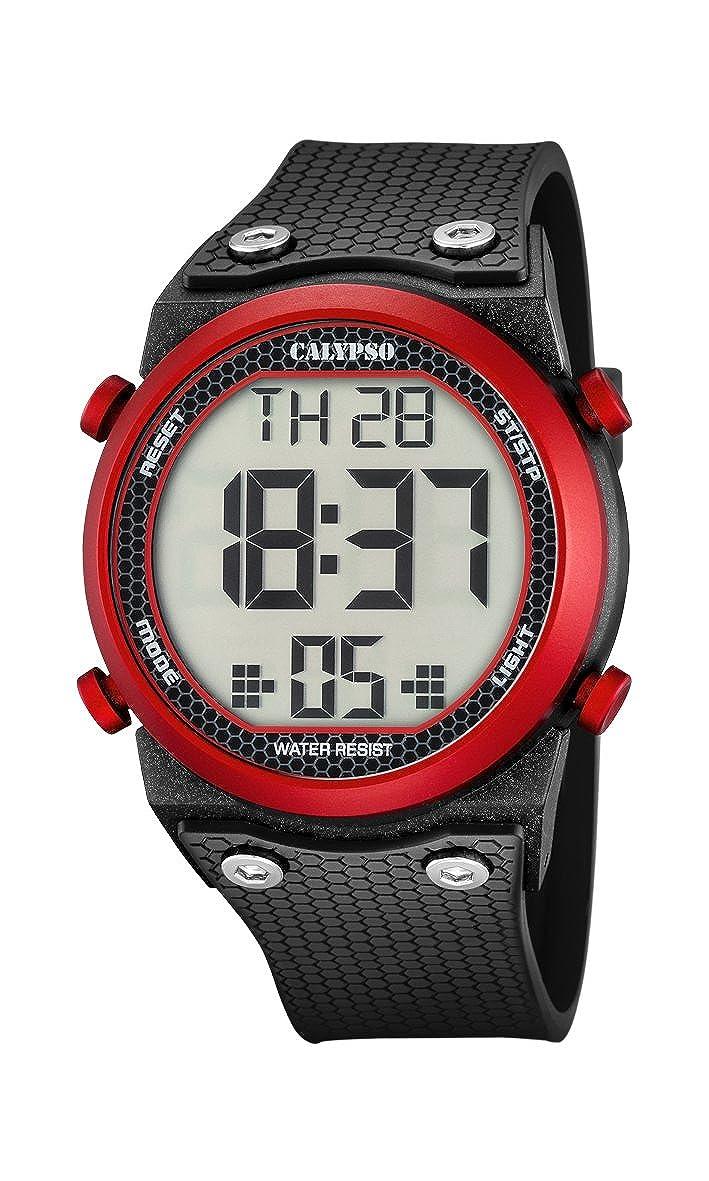 Calypso Watches Reloj Digital para Unisex de Cuarzo con Correa en Caucho K5705_2