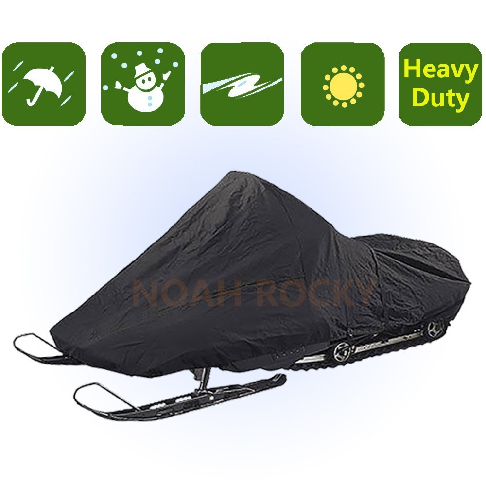 Outdoor Indoor Deluxe Heavy Duty Snowmobile Cover Protection Patio YHXC4 by RockyMRanger-Snow Mobile Cover