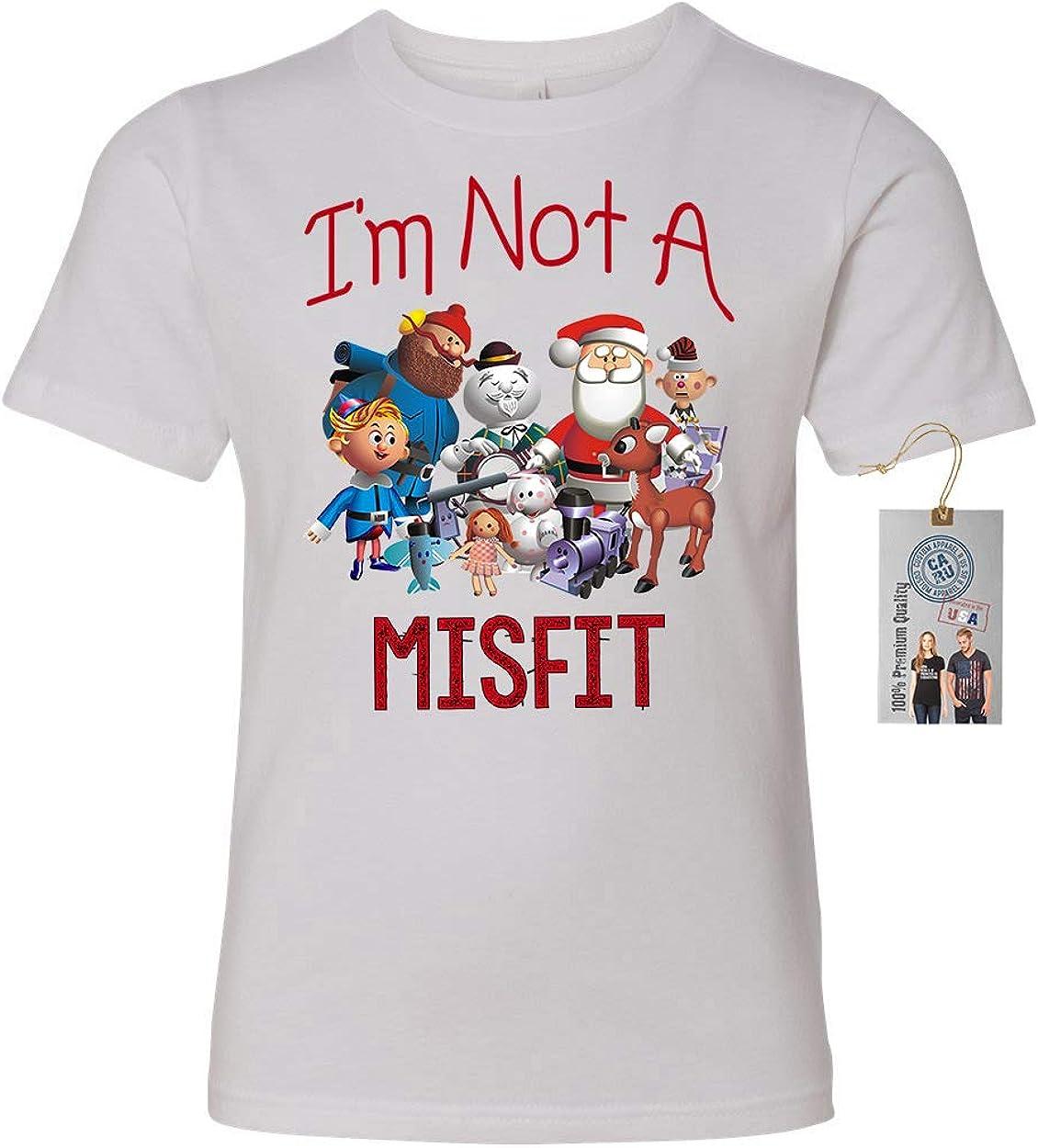 Not A Misfit Toy Girls Boys Short Sleeve