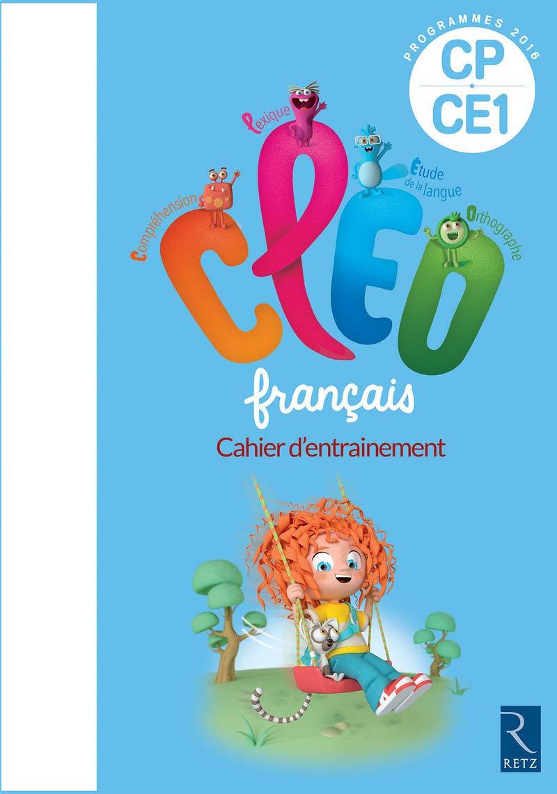 Amazon.fr   C.L.E.O. CP/CE40   Cahier d'entraînement   Nouveau ...