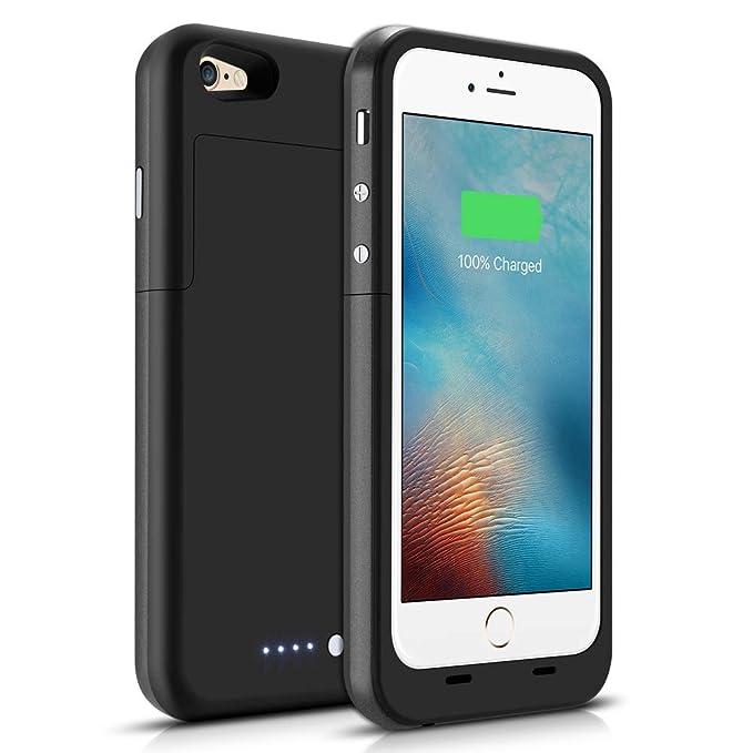 Amazoncom Iphone 66s Battery Case 3800mah Gasopic Extended Slim