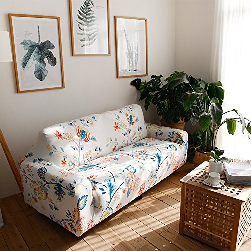 Hotniu Stretch Couch Covers Pattern Sofa Slipcovers