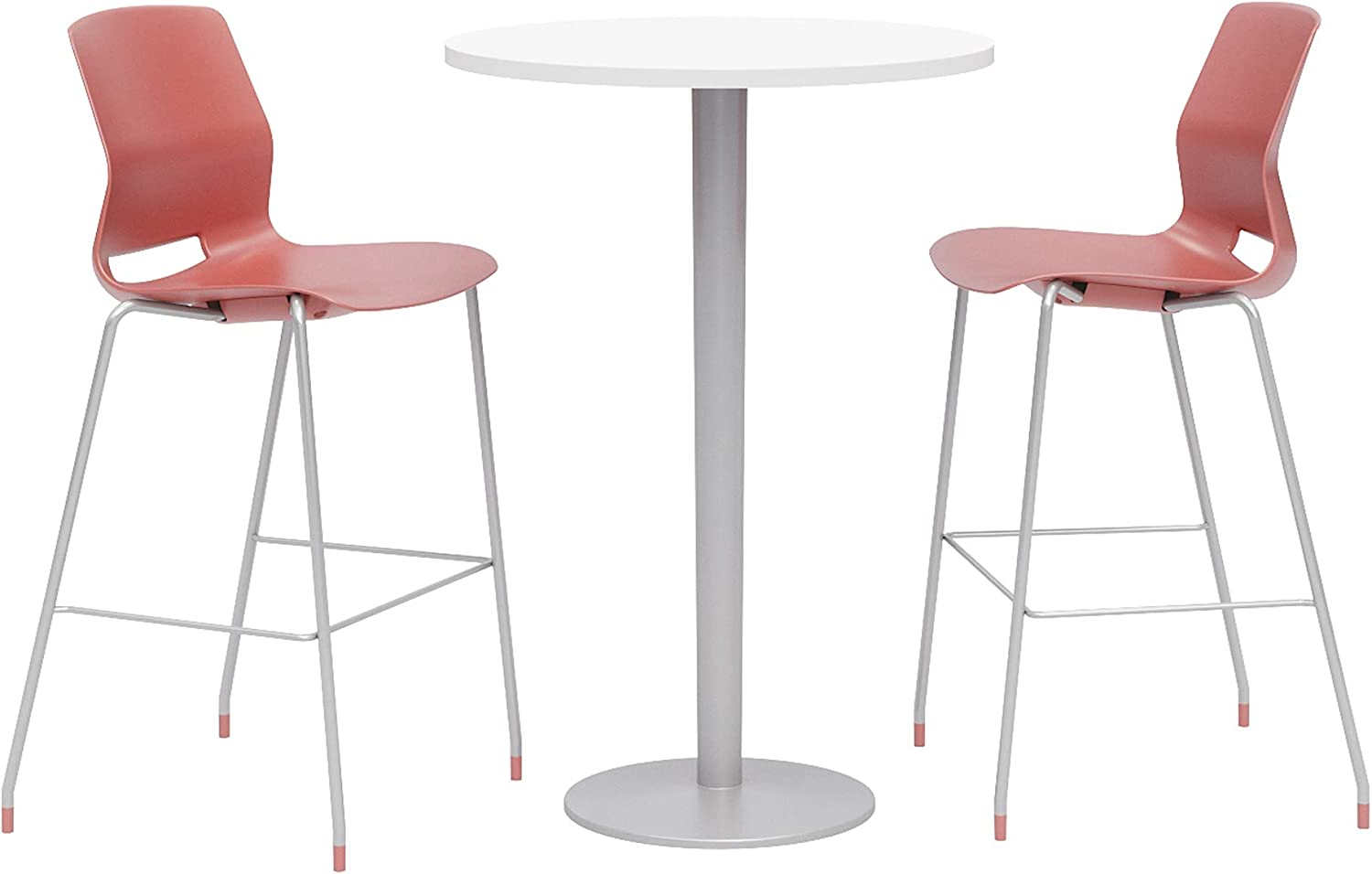Olio Designs Dining Room Furniture, Designer White Table, Coral Stools
