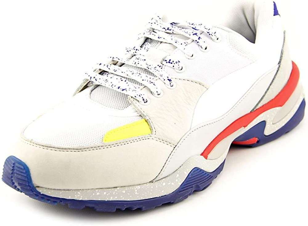 PUMA Mens MCQ Tech Leather Athletic Running Shoes