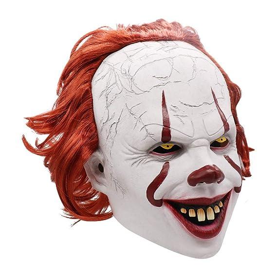 IT Pennywise Máscara de Payaso de Halloween | Traje de ...
