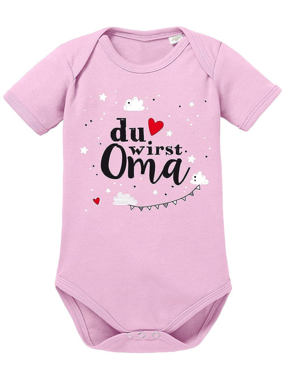 clothinx Baby Body Unisex Geburt Du Wirst Oma