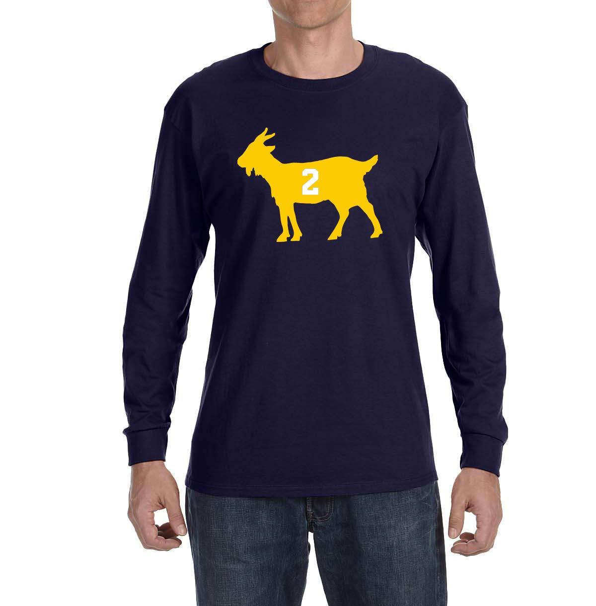 Navy Woodson Goat Shirts