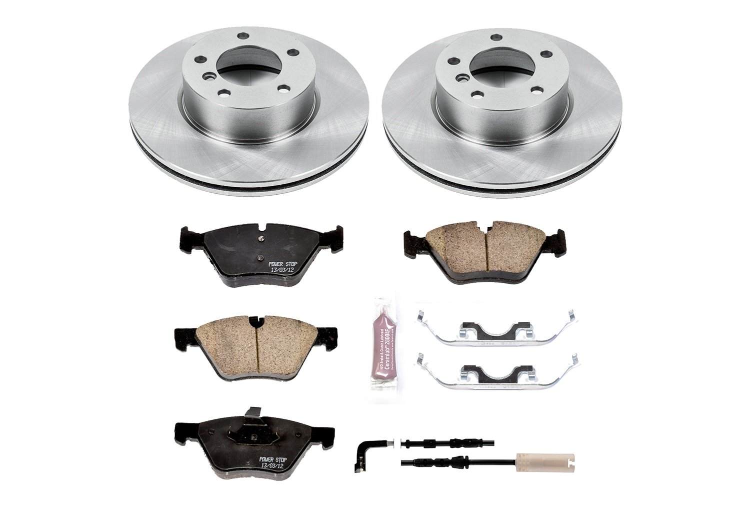 1-Click OE Replacement Brake Kit KOE6087 Autospecialty