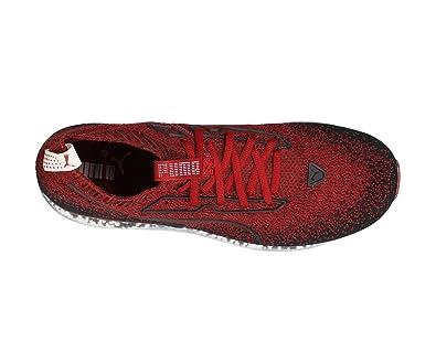 6093e8655f53 Puma Jamming Men s Sneakers in red Fabric 190629-03  Amazon.co.uk ...