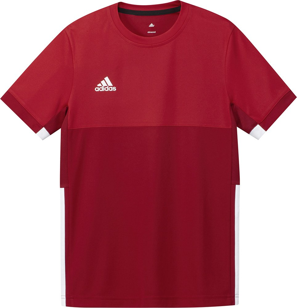 adidas T16 Climacool Boys Junior Kids Sports Training Tee Shirt