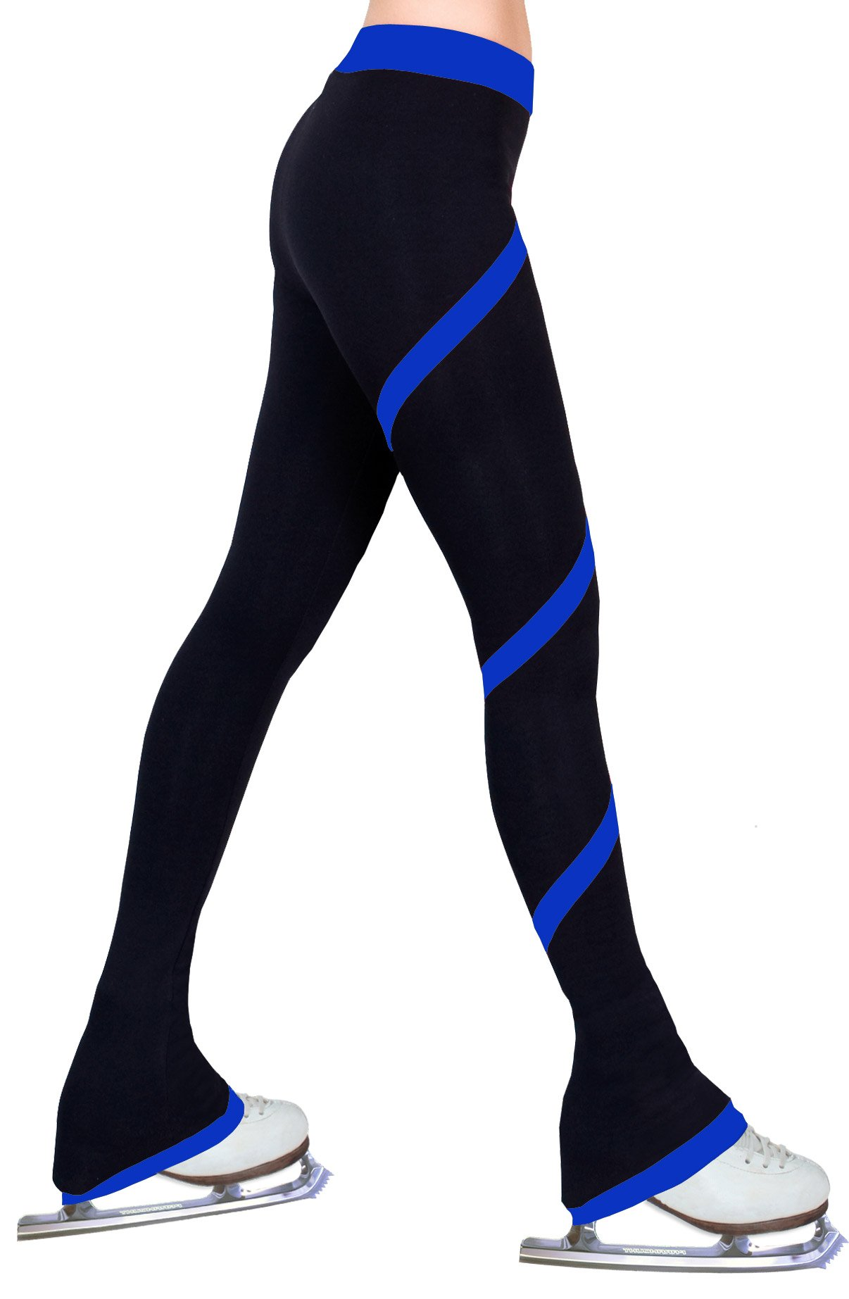 ny2 Sportswear Figure Skating Spiral Polartec Polar Fleece Pants (Royal Blue, Child Small) by ny2 Sportswear