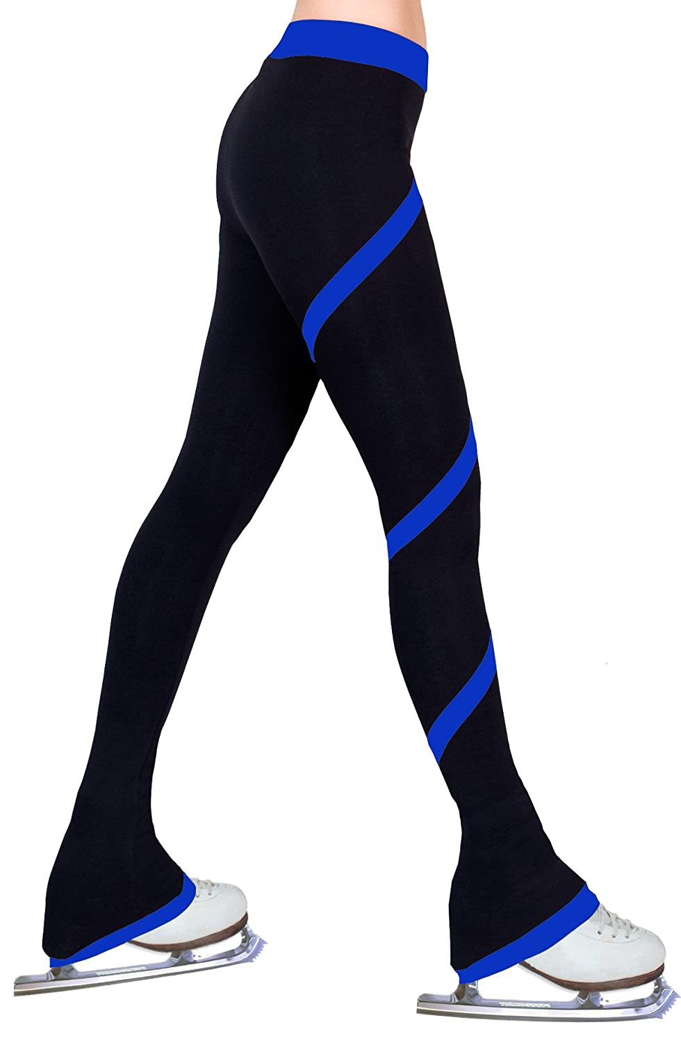 Figure Skating Spiral Polartec Polar Fleece Pants - Royal Blue NY2 SPORTSWEAR