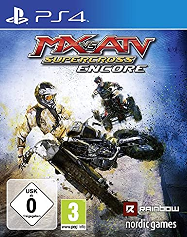 Nordic Games MX vs. ATV Supercross Encore PS4 Básico PlayStation 4 ...