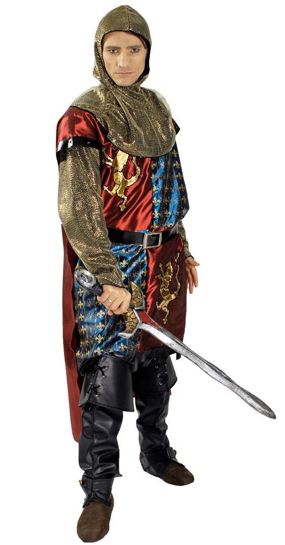 KARNEVALS-GIGANT Ritter-Kostüm / / / König-Löwenherz | Erwachsenen-Größen | Mittelalterkostüm-Ritter (50/52) 734c22