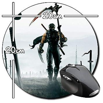 Ninja Gaiden 2 Alfombrilla Redonda Round Mousepad PC: Amazon ...