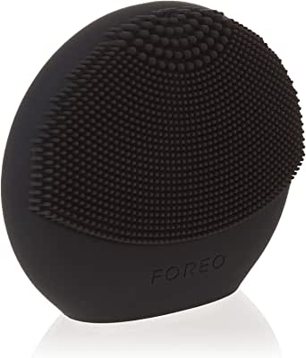 FOREO Luna Play Plus Portable Facial Cleansing Brush, Midnight, 86g