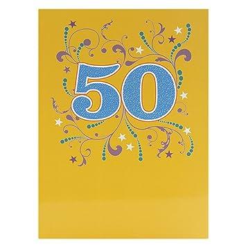 Hallmark 50th Birthday Card 50 Years Of You
