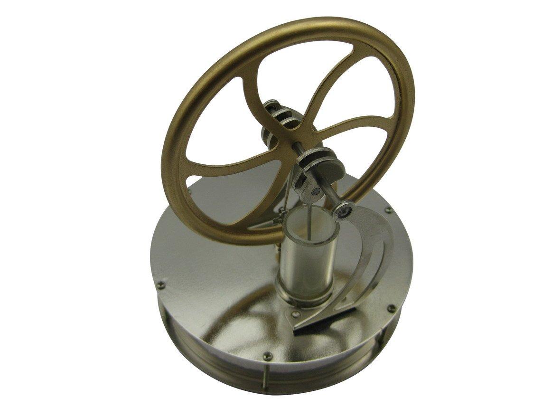 Funtech niedriger Temperatur Stirling Motor Motor Motor Dampf-Lokomotive, um Hitze Bildung Modell-Kits DW - 70-01 f0706b