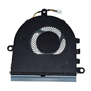 DREZUR CPU Cooling Fan Compatible for Dell Inspiron 15 5570 5575 P75F I5575-A214SLV-PUS Without CD-ROM Version Series Laptop Cooler DFS531005MC0T CN-07MCD0 7MCD0