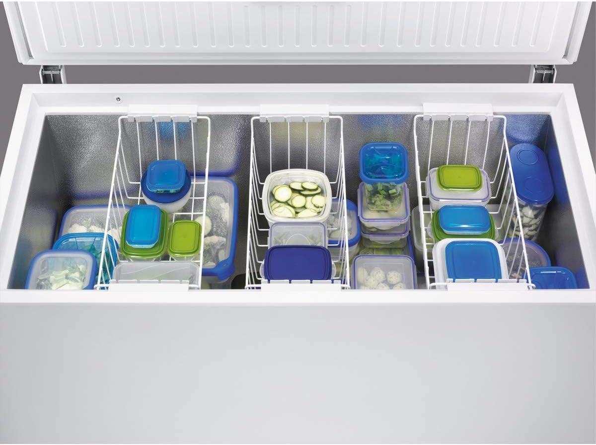 Zanussi ZFC51400WA Arcón congelador Ecotech+, Capacidad 500 Litros ...
