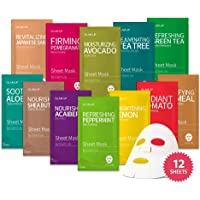 Sheet mask by Glam up Facial Sheet Mask BTS Combo-The Ultimate Supreme Collection for Every Skin Condition Day to Day…