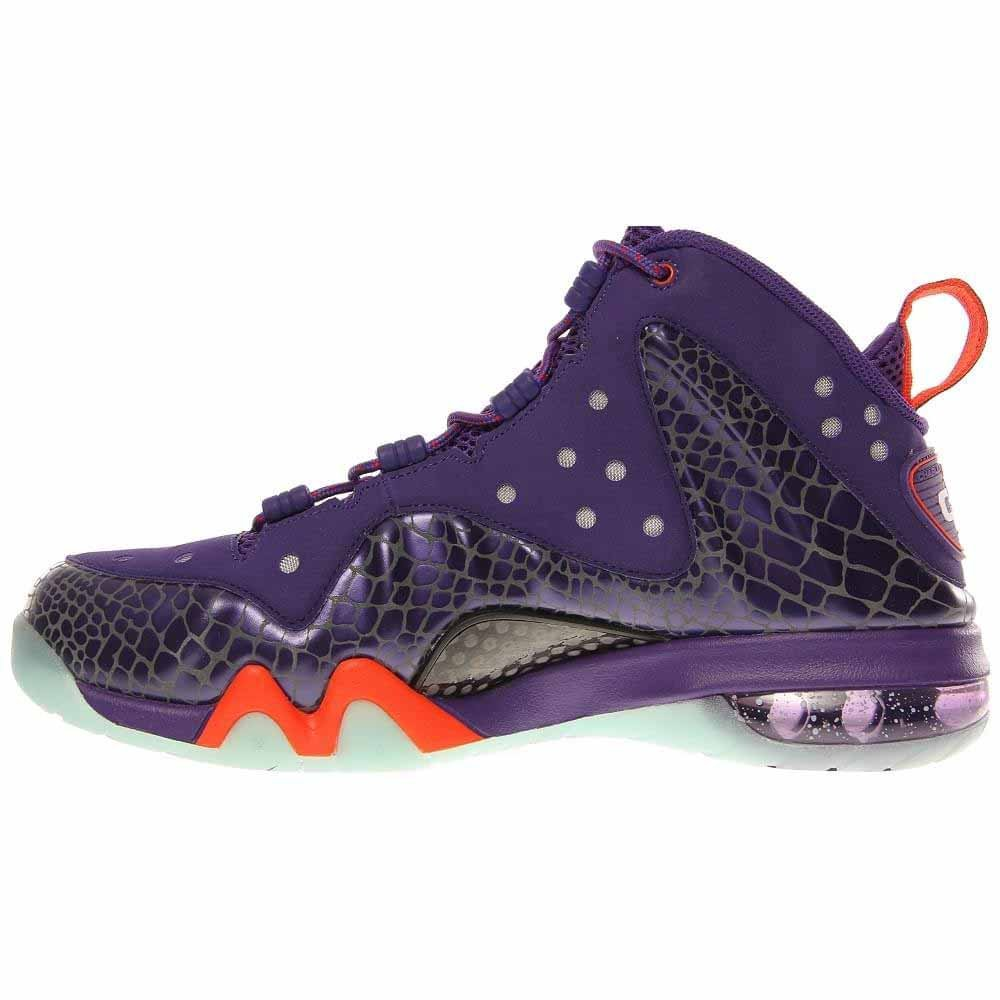 new concept f2409 8c698 Amazon.com   Nike Barkley Posite Max 555097 581 Mens Basketball Trainers  Sneakers Court Purple Team Orange Phoenix Suns Colour Way   Basketball