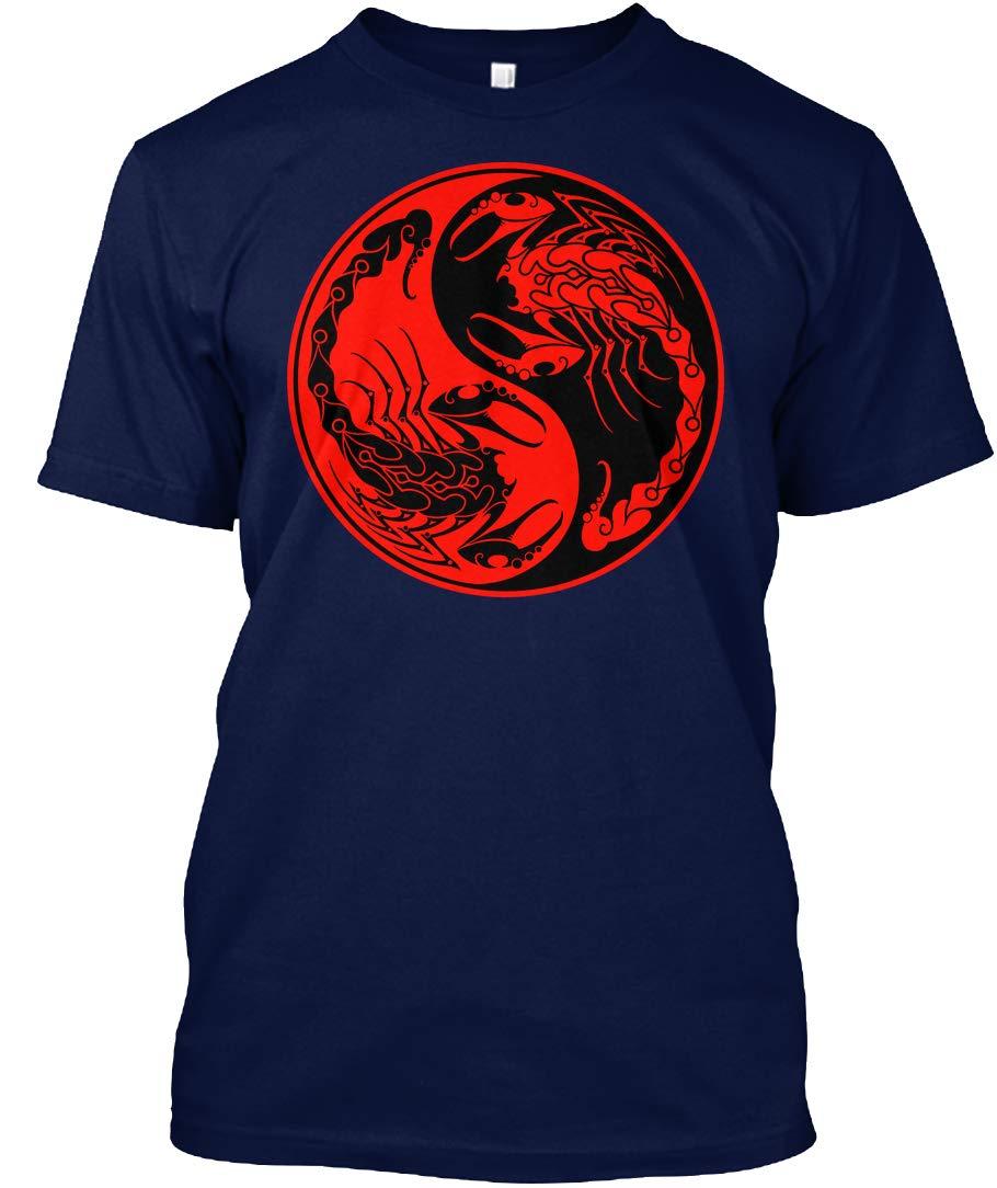 And Scorpions Yin Yang Tshirt Tagless Tee 5930