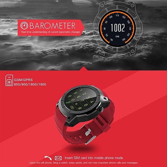 Amazon.com: LANHOU GPS Sport Watch, Smart Wrist Watch with Walking, Running, Cycling, Climbing Sport Modes, Heart Rate Monitor, Sleep Monitor, ...