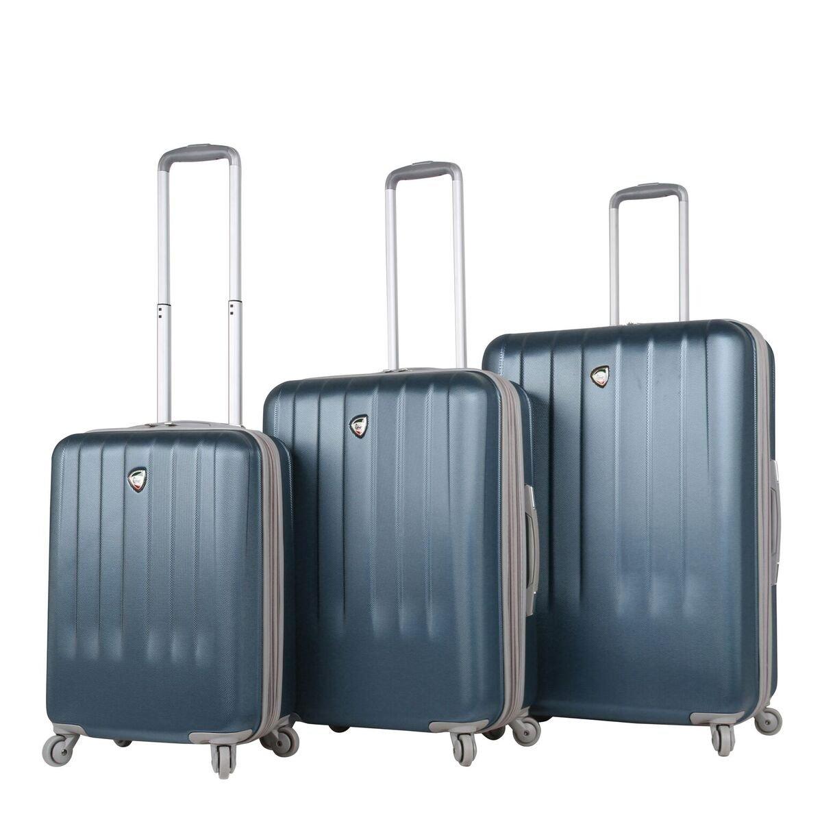 Slate Mia Toro Italy Mozzafiato Hardside Spinner Luggage 3pc Set