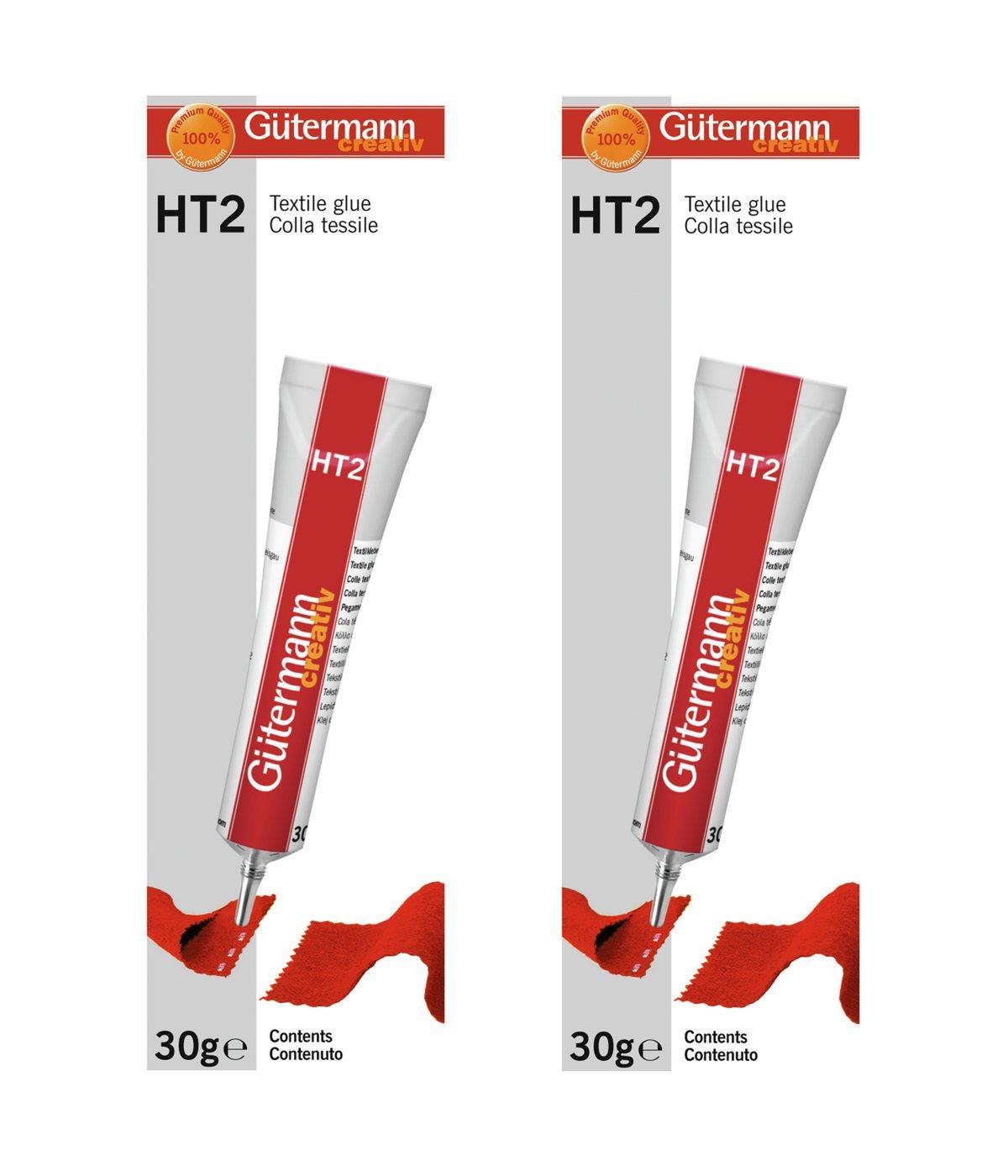 Gütermann HT2 - Pegamento para Tela Doble Pack: Amazon.es ...