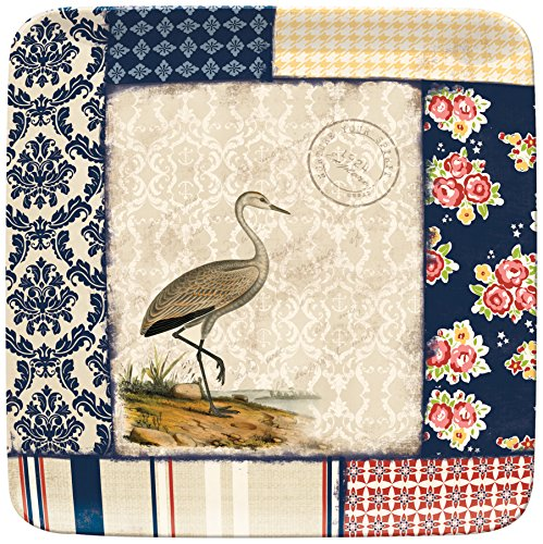 Lang Boardwalk Breeze Melamine Square Side Plate by Terri Conrad (2101500)